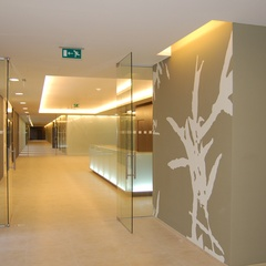 indirect lighting in the ceiling
