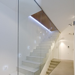 stairs from polished concrete